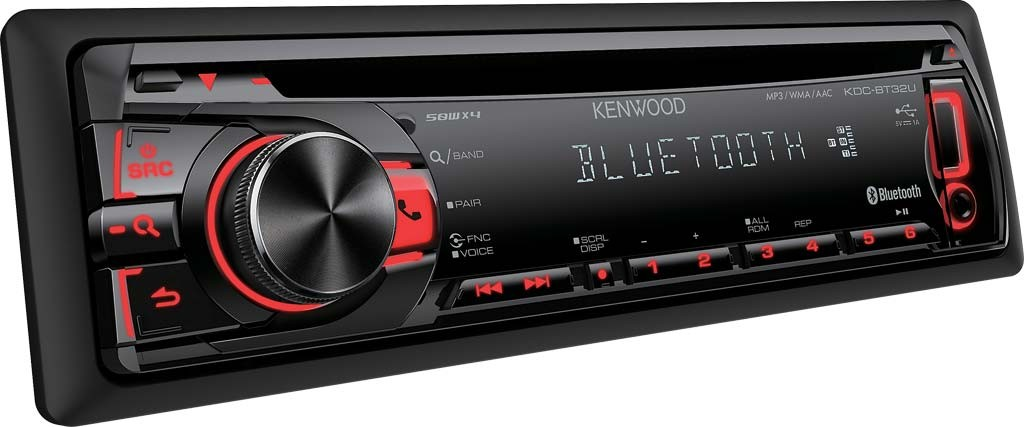 Kenwood KDC-BT32U - BLUETOOTH FREISPRECHEN CD/MP3/USB AUTORADIO NEU+GARANTIE
