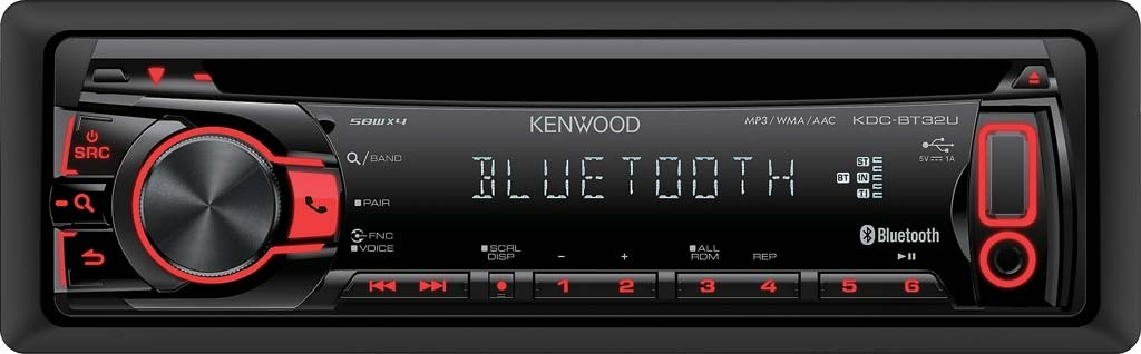 Kenwood-KDC-BT32U-BLUETOOTH-FREISPRECHEN-CD-MP3-USB-AUTORADIO-NEU-GARANTIE