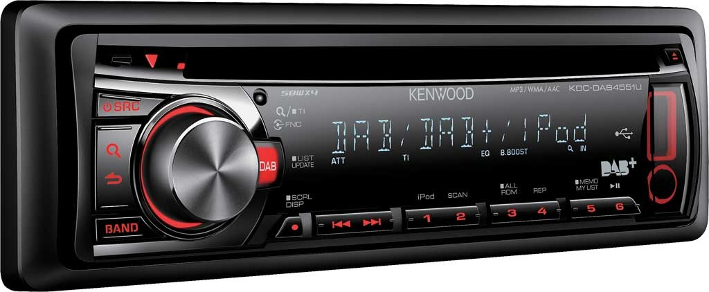 kenwood dab digitalradio autoradio cd mp3 usb radio kdc. Black Bedroom Furniture Sets. Home Design Ideas