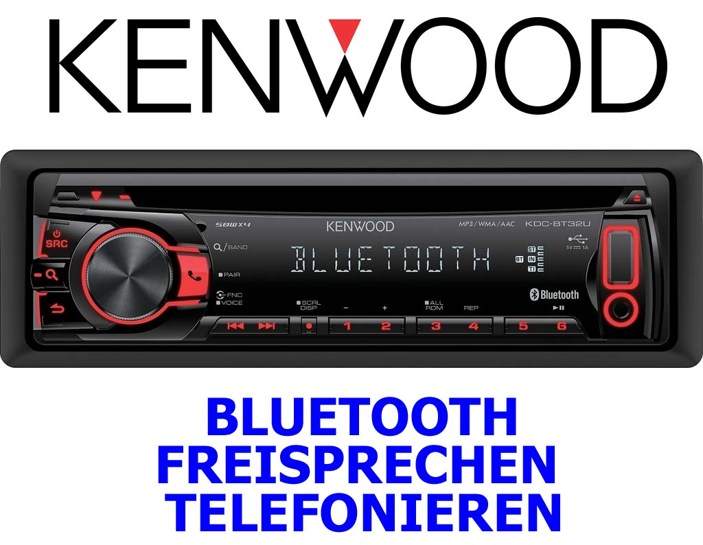 kenwood kdc bt32u bluetooth android apple iphone ipod usb. Black Bedroom Furniture Sets. Home Design Ideas
