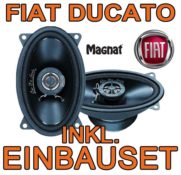 fiat ducato 1 2 magnat amaturenbrett lautsprecher 2 wege. Black Bedroom Furniture Sets. Home Design Ideas