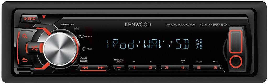 kenwood kmm 357sd mp3 usb autoradio sd karte iphone. Black Bedroom Furniture Sets. Home Design Ideas