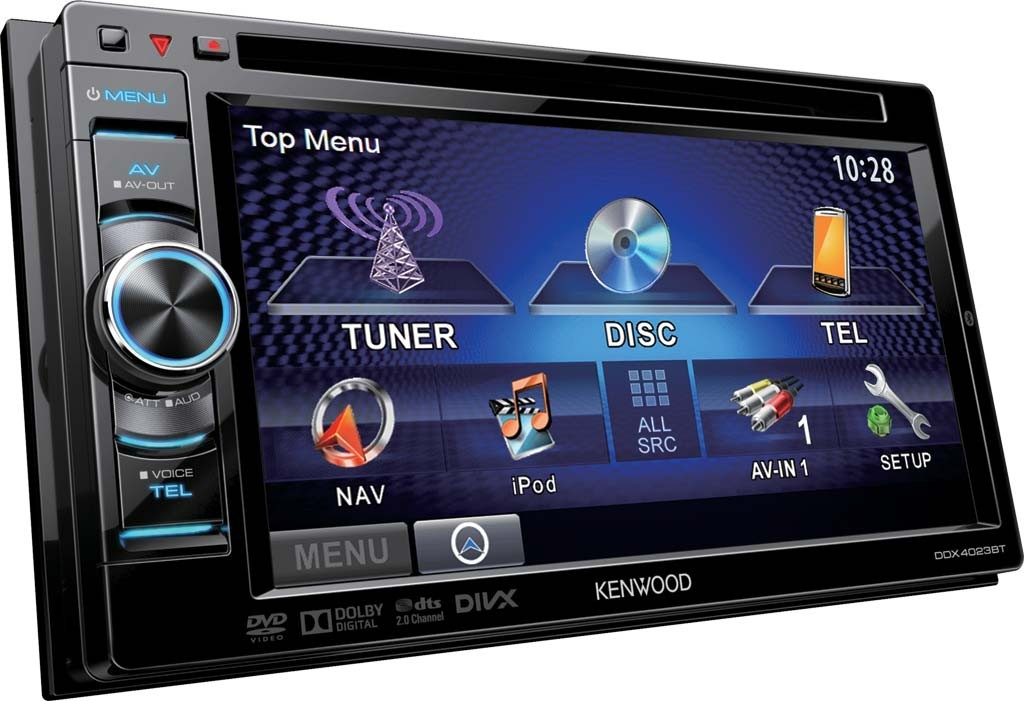 Kenwood autoradio 2 din