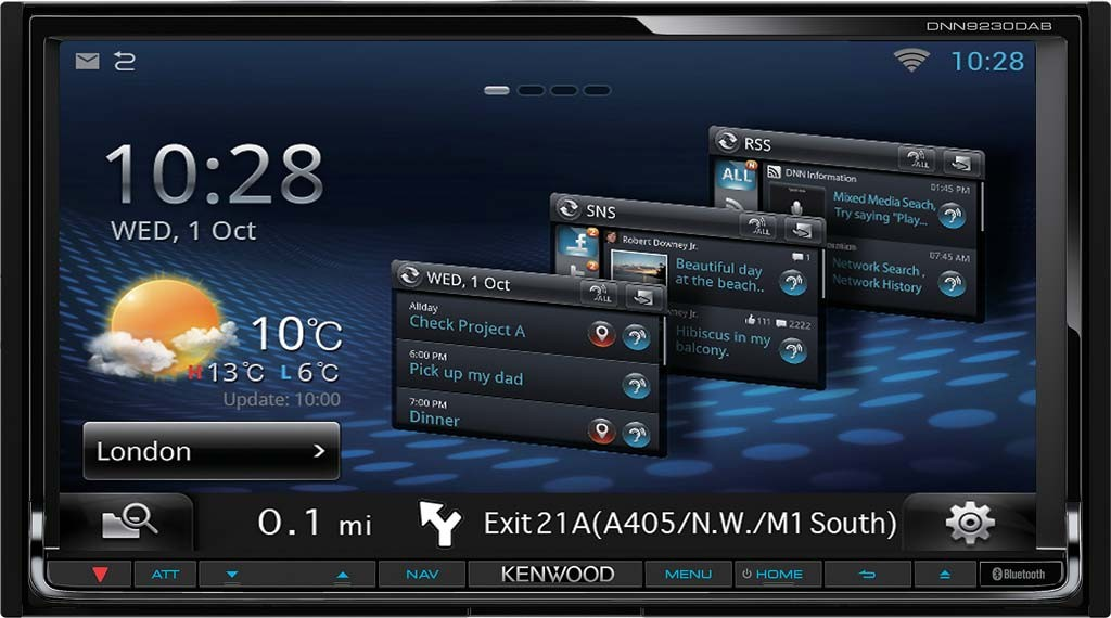 kenwood dnn9230 dab 2din navigation multimedia autoradio. Black Bedroom Furniture Sets. Home Design Ideas