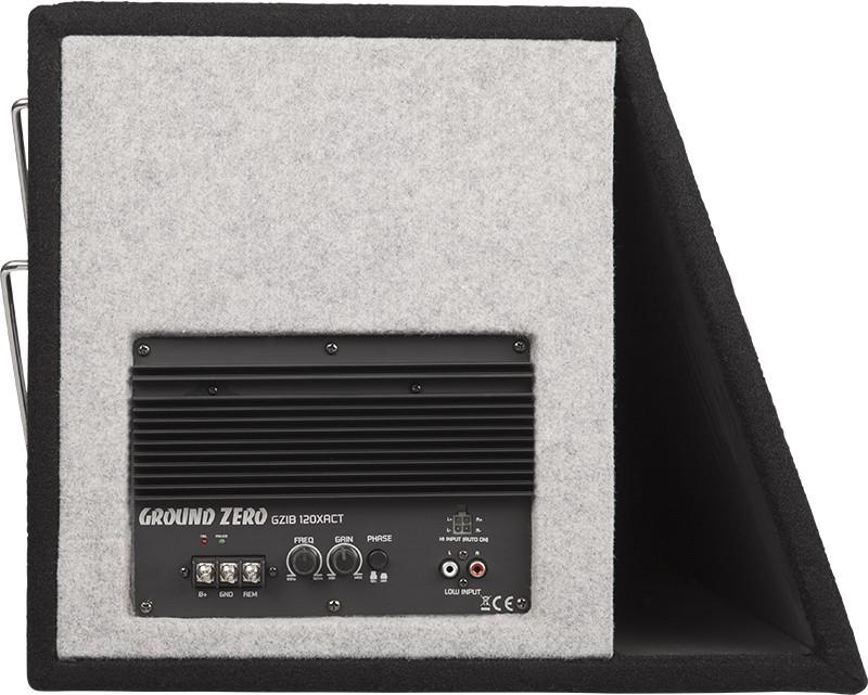 ground zero 300mm aktivwoofer 30cm aktivbass woofer. Black Bedroom Furniture Sets. Home Design Ideas
