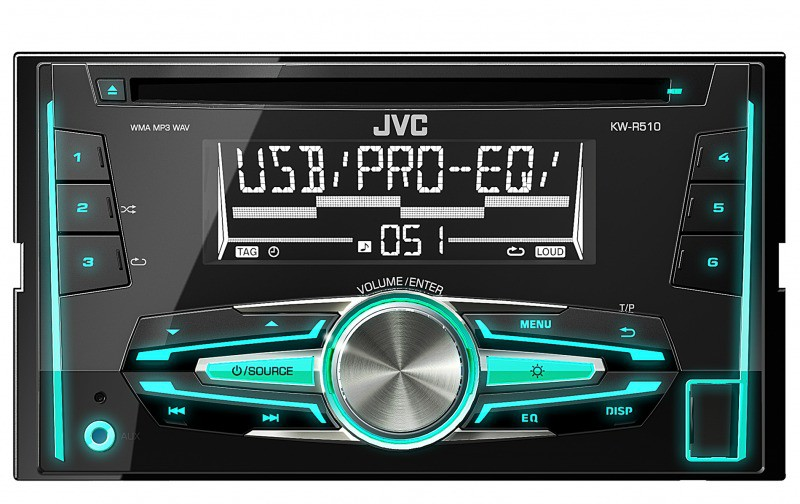 jvc kw r510e 2din autoradio doppeldin usb cd mp3. Black Bedroom Furniture Sets. Home Design Ideas