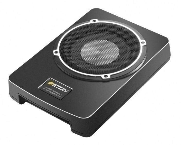eton usb8 20cm aktivsubwoofer aktivbass 200mm untersitz. Black Bedroom Furniture Sets. Home Design Ideas