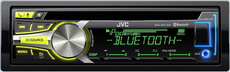 Jvc Kd R951bte Cd Mp3 Usb Bluetooth Autoradio Siri