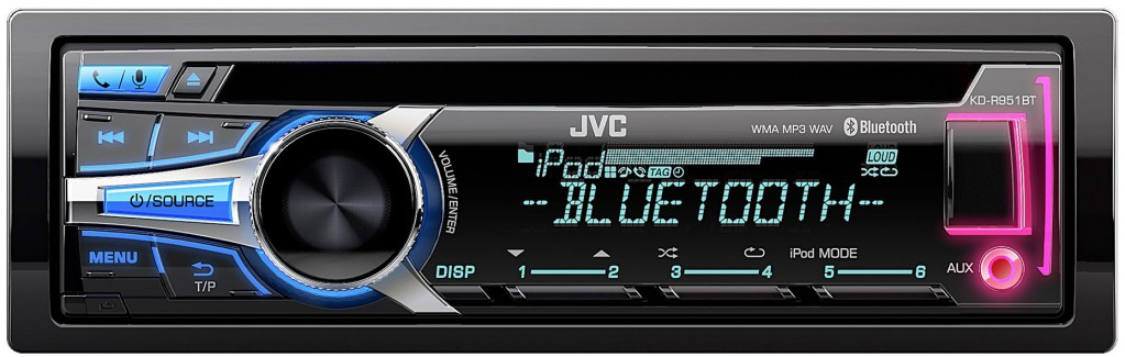 jvc kd r951bte cd mp3 usb bluetooth autoradio siri smartphone auto radio aux ebay. Black Bedroom Furniture Sets. Home Design Ideas