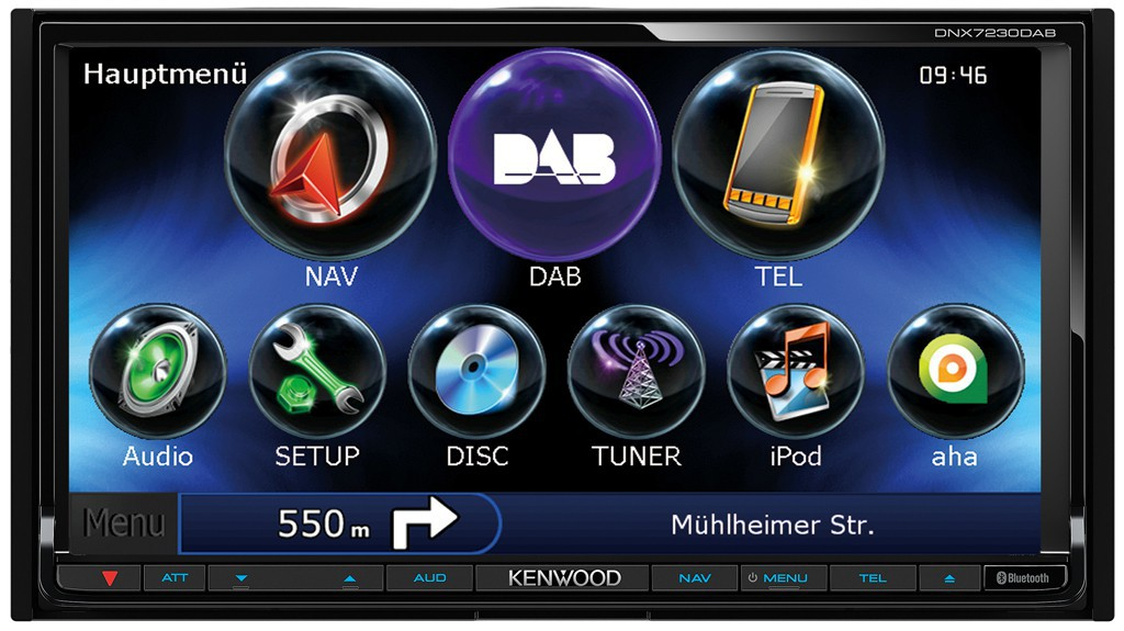 kenwood dnx7230dab navigation multimedia autoradio dab. Black Bedroom Furniture Sets. Home Design Ideas