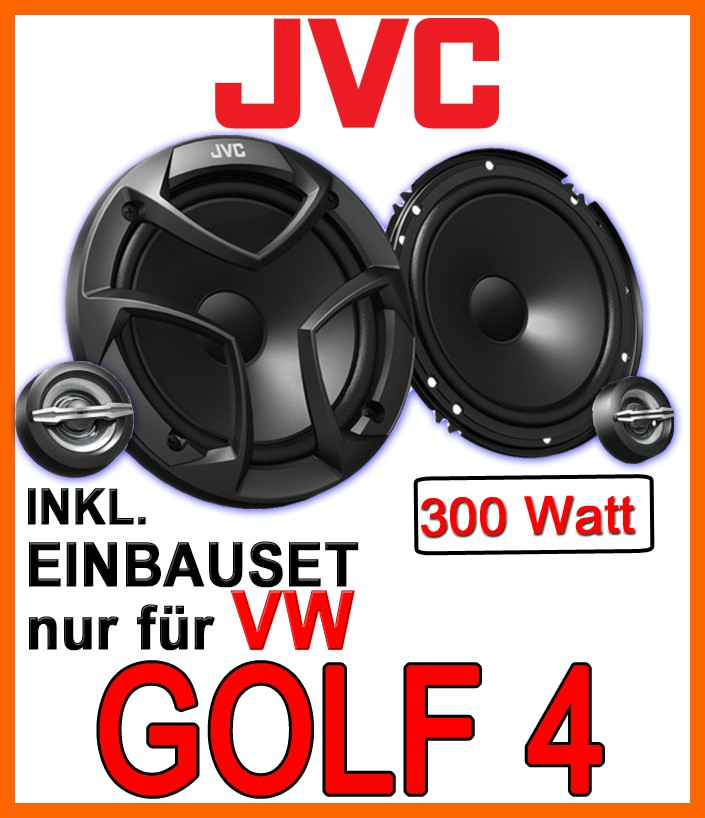 vw golf 4 jvc lautsprecher boxen 16cm t r vorne oder. Black Bedroom Furniture Sets. Home Design Ideas