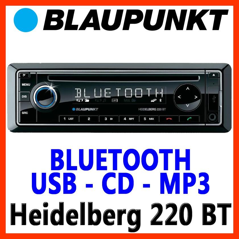 blaupunkt heidelberg 220 bt cd mp3 usb autoradio. Black Bedroom Furniture Sets. Home Design Ideas