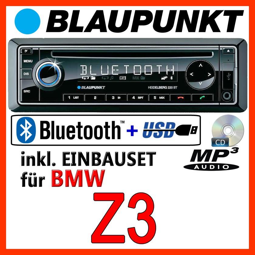 blaupunkt bmw z3 bluetooth autoradio mit cd mp3 usb. Black Bedroom Furniture Sets. Home Design Ideas