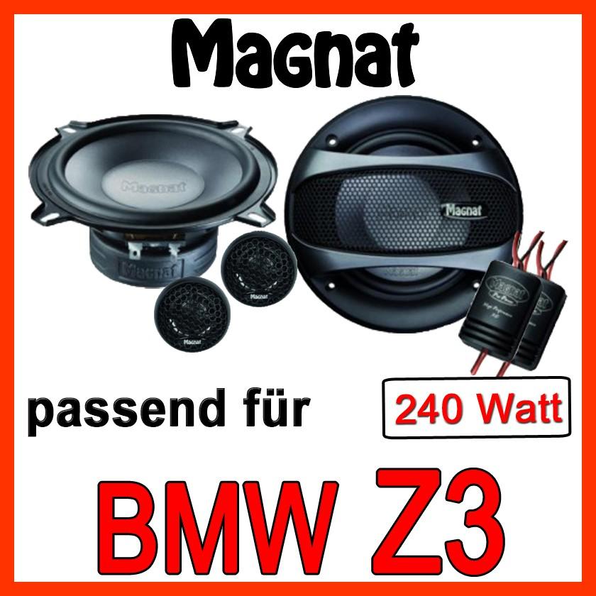 Bmw Z3 Lautsprecher Boxen Magnat 240 Watt 13cm 130mm 2