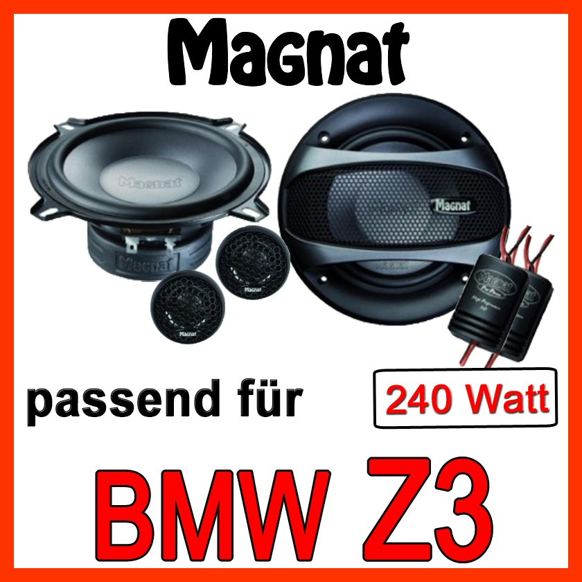 Bmw Z3 Speakers: MAGNAT 240 WATT 13cm 130mm 2