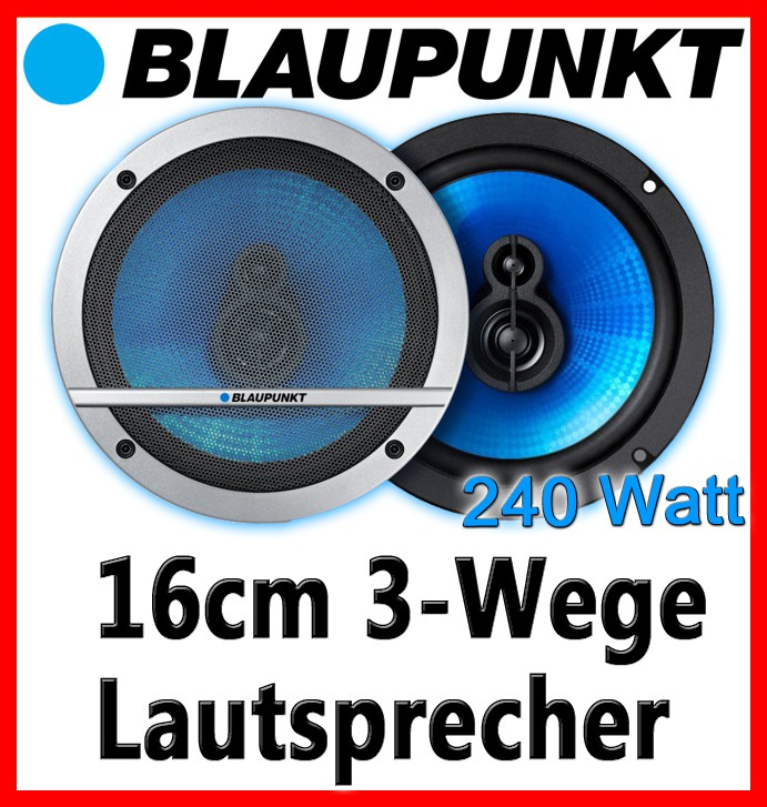 blaupunkt tl160 16cm 3 wege lautsprecher boxen set. Black Bedroom Furniture Sets. Home Design Ideas