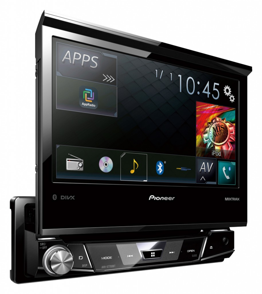 pioneer avh x7700bt 1din multimedia autoradio radio usb dvd cd tft bluetooth ebay. Black Bedroom Furniture Sets. Home Design Ideas