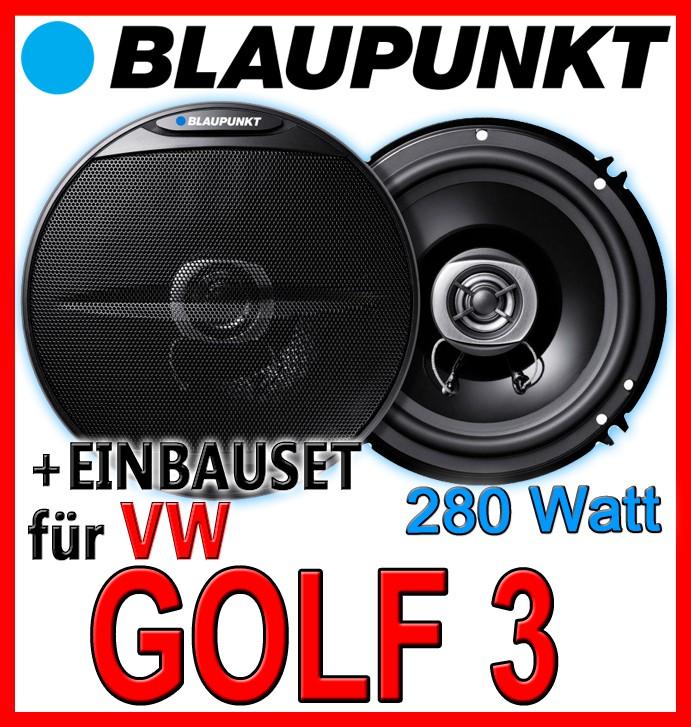 vw golf 3 iii blaupunkt lautsprecher boxen 16cm t r. Black Bedroom Furniture Sets. Home Design Ideas