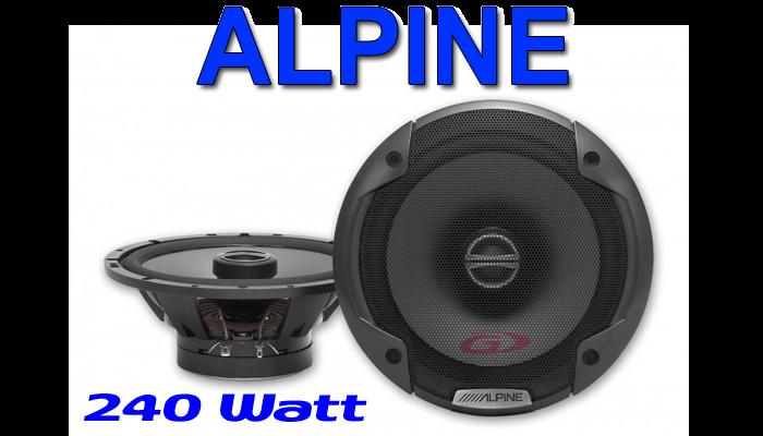 bmw 3er e46 alpine spg 17c2 2 wege koax lautsprecher. Black Bedroom Furniture Sets. Home Design Ideas