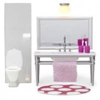 Lundby Smaland Badezimmer incl. Beleuchtung, Smaland Maßstab 1:18