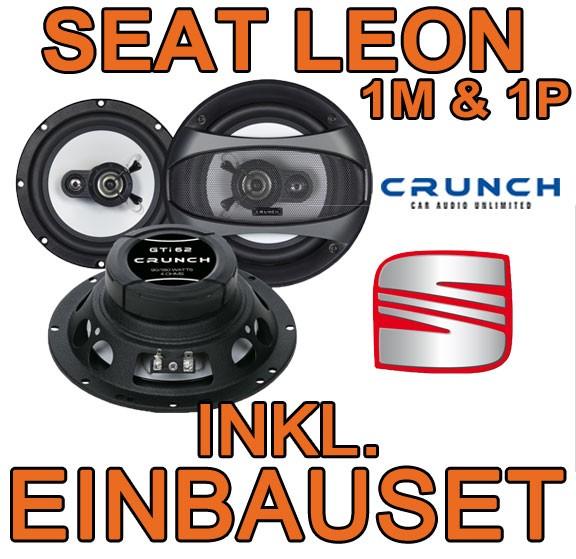seat leon 1m 1p crunch gti62 16cm triaxsystem. Black Bedroom Furniture Sets. Home Design Ideas