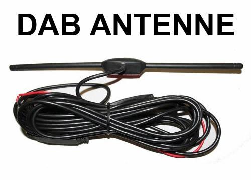 DAB Fensterklebeantenne mit Verstärker ( aktiv ) DAB ...