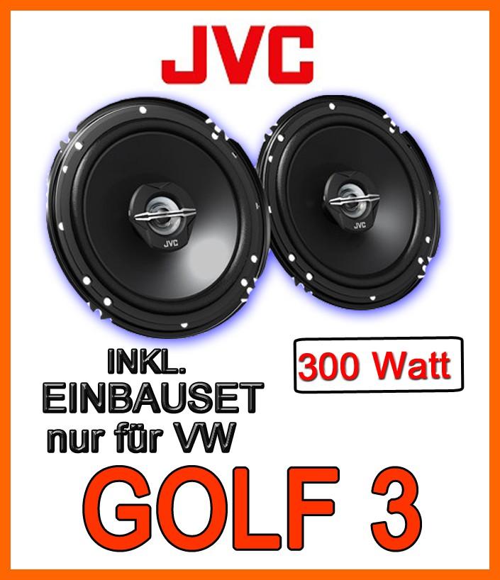 vw golf 3 lautsprecher jvc cs j620 16cm koaxe. Black Bedroom Furniture Sets. Home Design Ideas