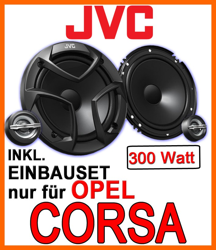 opel corsa b c d jvc lautsprecher boxen 16cm t r vorne. Black Bedroom Furniture Sets. Home Design Ideas