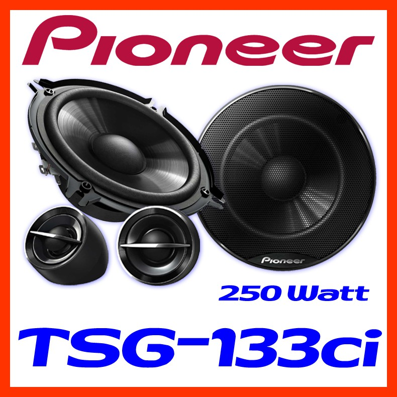pioneer ts g133ci 13cm lautsprechersystem auto boxen. Black Bedroom Furniture Sets. Home Design Ideas