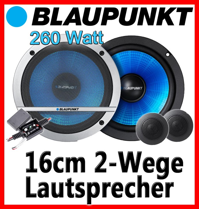 blaupunkt cx160 16cm lautsprecher komponentensystem. Black Bedroom Furniture Sets. Home Design Ideas