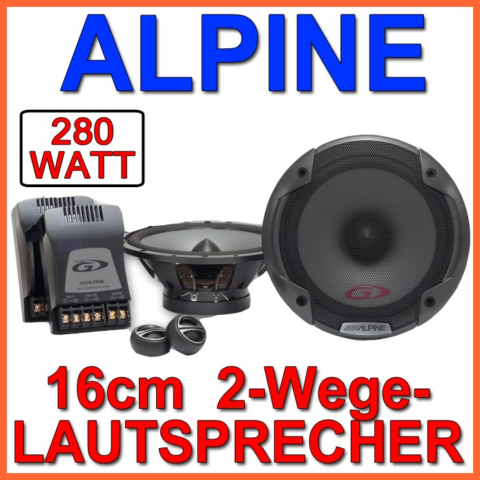 alpine spg 17cs 16cm lautsprecher 2 wege boxen system carhifi auto neuware ebay. Black Bedroom Furniture Sets. Home Design Ideas